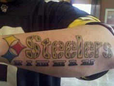 sports team tattoos nfl tattoo ideas pittsburgh steelers tattoo