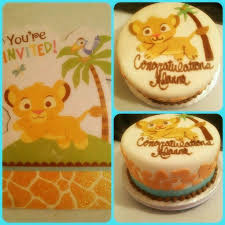 25 best destiny u0027s baby shower cake ideas for baby simba and lion