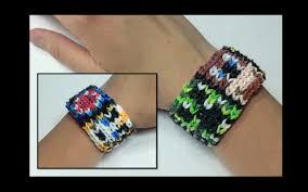 bracelet looms youtube images Alpha loom minecraft alpha loom using standard rainbow loom bands jpg