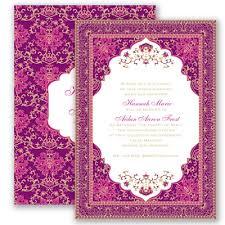 henna wedding invitations moroccan magic begonia invitation davids bridal 1 82