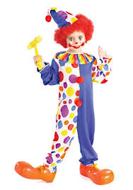 Scary Halloween Clown Costumes Clown Costumes Kids Clown Halloween Costume