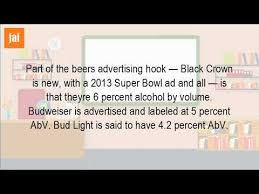 Bud Light Alcohol Content What Is The Alcohol Content In A Bud Light Youtube