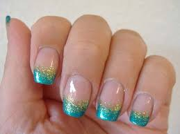 easy nail art glitter easy glitter nail art photo gallery of with best glitter nail at