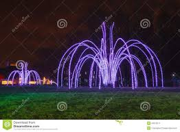 outdoor light display stock photo image 43370511