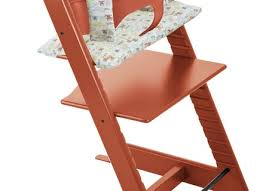 hazy grey stokke tripp trapp chair baby set the land of nod