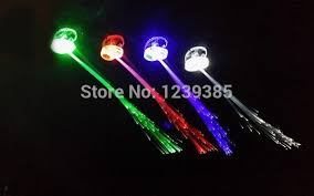 glow party supplies party luminous light up led hair toys flash party hair glow party