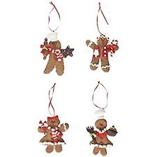 claydough gingerbread cookie ornament home kitchen