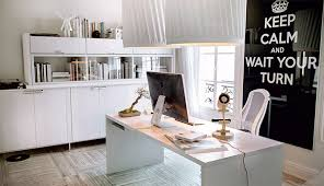 Beautiful Office Desks Beautiful Home Offices Workspaces Office Pinterest White