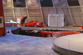 national corvette museum sinkhole corvette museum sinkhole eats 8 corvettes updated
