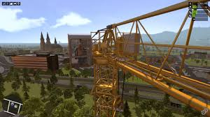 construction simulator 2015 liebherr 150 ec b tower crane youtube