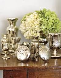 How To Make A Mercury Glass Vase 123 Best Mercury Glass Decorating Images On Pinterest Christmas