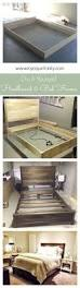 Diy Platform Bed Frame Full by Best 25 Diy Queen Bed Frame Ideas On Pinterest Diy Bed Frame