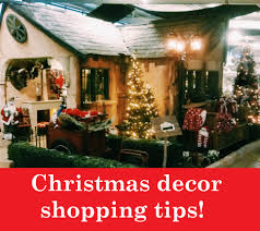 Christmas Tree Shopping Tips - how to make the most out of your christmas decor shopping