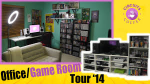 ultimate office game room setup tour circuits u0026 coffee youtube