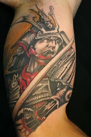 japanese warrior tattoo design on arm tattoos book 65 000