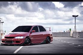 mitsubishi evo slammed mitsubishi evolution by turkiye2009 on deviantart