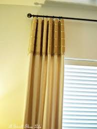hanging pinch pleat curtains instructions a stroll thru life hanging drapes for a professional look