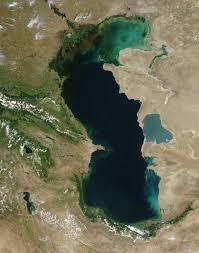 Volga River Map Volga River Delta Image Of The Day
