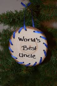 amazon com world u0027s best uncle christmas ornament handmade from a