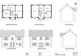 Drawing Floor Plan Best 2d Home Plan Drawing With Traditional Style House Floor Plan