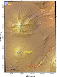 Mount Washington Map by Mckenzie Pass U2013 Santiam Pass Loop Youthful Volcanism In The High