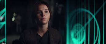 jyn erso felicity jones wallpapers star wars rogue one trailer premieres with the return of darth