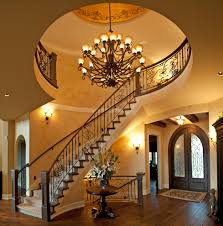 curved staircase decorating ideas staircase mediterranean with