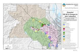 Washington County Map Washington County Oregon Zoning Zijiapin