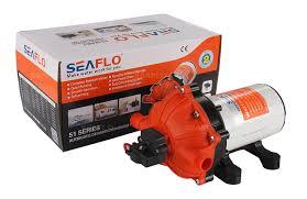 Rv Water Pump System Amazon Com Seaflo 12v Water Pressure Diaphragm Pump 20 L Min 5 5