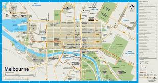 melbourne tram map free city circle tram route melbourne maps gallery melbourne