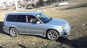 purple subaru forester subaru forester cross sports diagonal test youtube