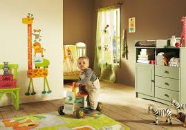 Green Nursery Decor Baby Nursery Room With Green Cabinet And Brown Wall Decor