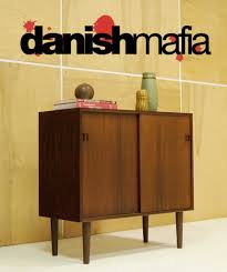 mid century danish modern rosewood credenza sideboard buffet entry