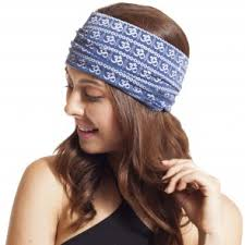 wide headband headbands cotton boho tie die knit bohemian headbands