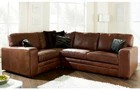 Small L Shaped Leather Sofa Leather Contemporary L Shaped Sofa Sectional W High Back With