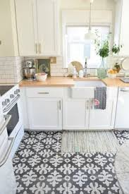 White Kitchen Tile Floor Modern Kitchen Tile Flooring With White Cabinets Morespoons