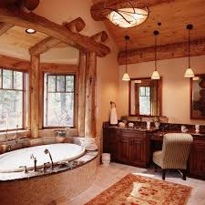 amazing ideas 6 log cabin bathroom designs home design ideas