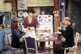 the view from monica u0027s kitchen window on friends changed