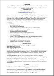 Residential Counselor Resume Mental Health Counselor U003ca Href U003d