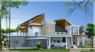 4 bedroom contemporary villa elevation 2500 sq ft kerala
