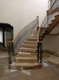 Refinish Banister Home Dkp Wood Railings U0026 Stairs