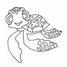 baby turtle stencil