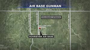 Los Angeles Afb Map by Gunman Situation At Schriever Air Force Base Ends Peacefully Cbs