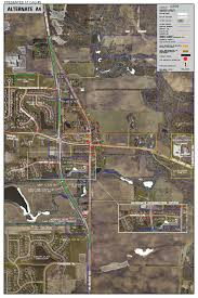 Illinois Road Construction Map by U S Route 45 Il 132 To Il 173 And Millburn Bypass Phase I Study