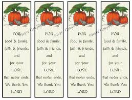 printable bookmarks thanksgiving christian prayer of thanks