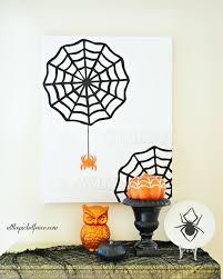 how to make a creepy crawly halloween canvas halloween canvas