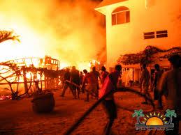 massive fire destroys ramon u0027s village resort