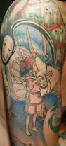 princess mononoke spirited away tattoos tattoo jiji totoro studio