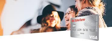 visa credit cards state farm bank