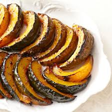 orange dijon roasted acorn squash recipe